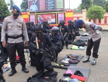 Brimob Bone Kawal PON XX Papua, Komandan Titip Pesan Khusus