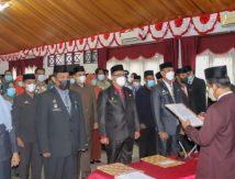 Wakil Bupati Selayar Lantik Pj Sekda dan Kadis, Berikut Nama-namanya