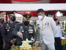 HUT TNI ke-76, Bupati Adnan: Sinergitas TNI dan Pemerintah Pacu Kemajuan Daerah
