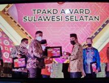 Pemkab Selayar Diganjar Penghargaan TPKAD Terbaik