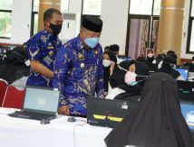 1.918 Peserta CPNS Pemkab Gowa Ujian SKD, Wabup: Harus Percaya Diri!
