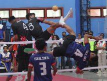 Final Kuadran Sepak Takraw PON XX Papua: Awas, Kecolongan!