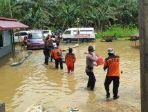 Banjir di Paser Kalimantan Timur, Segini Jumlah Warga Mengungsi