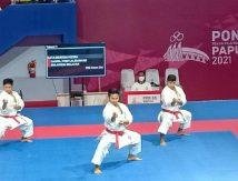 Taklukkan DKI Jakarta, Karate Sulsel Sumbang Medali Kesembilan di PON XX Papua