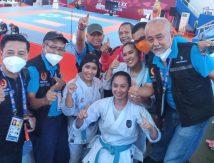 Tangan Cedera, Bukan Penghalang Karateka Cantik Sulsel Berjaya di PON XX Papua