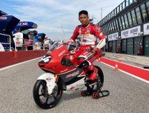 GP Moto3 Misano, Astra Honda Ajak Masyarakat Suntik Mario Aji