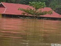 Waspada! Banjir Melawi Terpantau Belum Surut