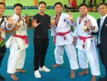 Makna Salam 5 Jari Karateka Sulsel di PON Papua