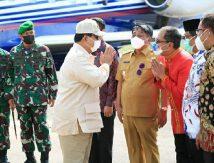 Menhan RI Prabowo Subianto Sambangi Toraja, Danny Dampingi Khusus