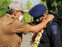 Pulang Papua, 90 Personel Brimob Bone Disambut Wakil Bupati, Ini Wejangannya