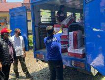 Plt Gubernur Atensi Bantuan Untuk Korban Banjir dan Longsor