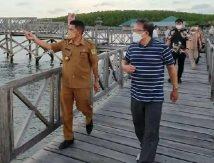 Kadis Parbud Sinjai Dampingi Kepala Perwakilan BI sulsel Nikmati Panorama Wisata Hutan Mangrove Tongke-tongke