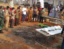 Produk Kalla Beton Menjadi Bahan Bangunan Masjid Husein di Kabupaten Gowa